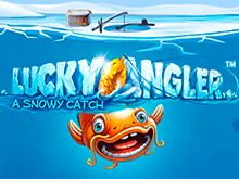Lucky Angler: A Snowy Catch от Netent с (HD) графикой